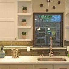 Transitional Kitchen by Sarah Greenman