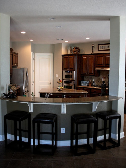 Curved Breakfast Bar Design Ideas Amp Remodel Pictures Houzz