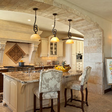 Mediterranean Kitchen by Neolithic Design LA