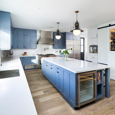 Transitional Kitchen by Von Fitz Design
