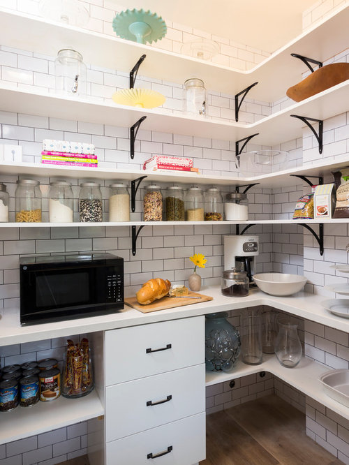 Microwave In Pantry Home Design Ideas, Pictures, Remodel and Decor