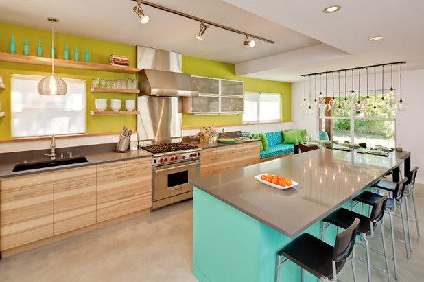 Contemporary Kitchen by Jennifer Ott Design