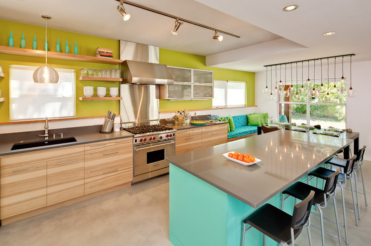 Contemporary Kitchen by Jennifer Ott Design