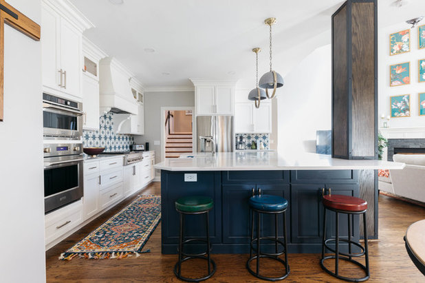 Transitional Kitchen by Frenchs Cabinet Gallery llc