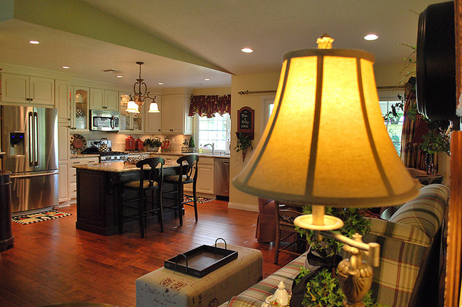 Traditional Kitchen by DB West Construction, Inc.