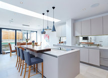 how is the wood adhered to countertop ?