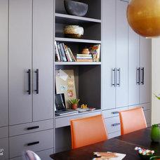 Contemporary Kitchen by Lisa Ferguson Interior Design
