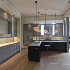Transitional Kitchen by Regina Steverson...Space Planning..Kitchen Design