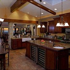 Mediterranean Kitchen Daniel Martinez Architect