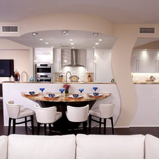 Contemporary Kitchen by LS Interiors Group, Inc.