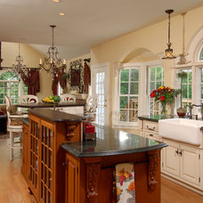 Eclectic Kitchen by Daniels Design & Remodeling