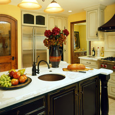 Mediterranean Kitchen by Castle Rock Construction