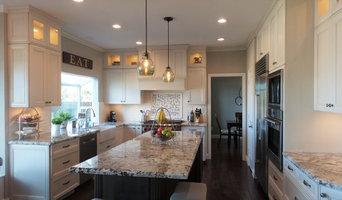 Danville - Gray and White Kitchen