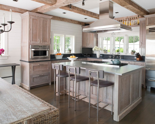 Whitewashed Cabinets Home Design Ideas, Pictures, Remodel and Decor