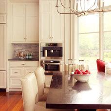 Traditional Kitchen by Renato Gasparian Associates