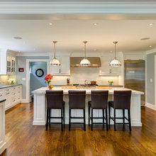 Kitchen of the Week: Room for Family Fun in Connecticut