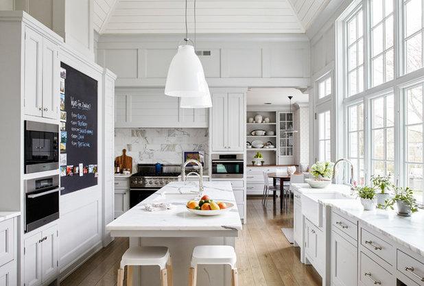 Traditional Kitchen by Nastasi Vail Design