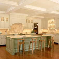 Traditional Kitchen by Russell Guerin Architects, pc