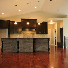 Contemporary Kitchen by Lustig Custom Cabinets