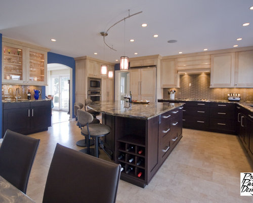 Dark And Light Kitchen Ideas, Pictures, Remodel and Decor