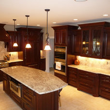 Traditional Kitchen by S.D.M. Custom Finish Carpentry