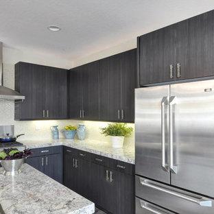Dark Grey Kitchen Houzz