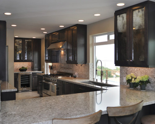 Beautiful Dark Maple Kitchen Cabinets With Your Setting E And