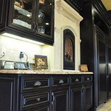 Mediterranean Kitchen by Norm Tessier Cabinets, Inc.
