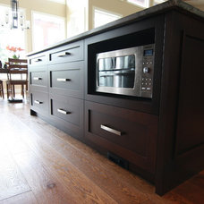 Contemporary Kitchen by Arts Custom Woodcrafting Inc.