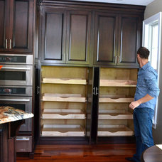 Traditional Kitchen by Olde Mill Cabinet Co