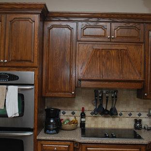 Dark Walnut Stained Cabinets Houzz