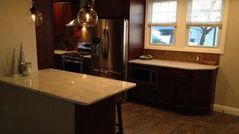 Dark Wood Kitchen Remodel
