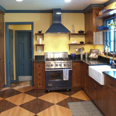 Traditional Kitchen by Somrak Kitchens, Inc