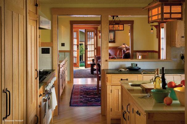 Craftsman Kitchen by HartmanBaldwin Design/Build