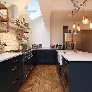 Urban kitchen in London.