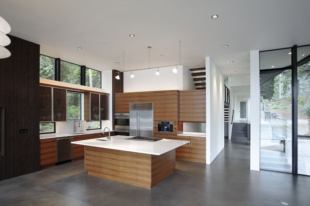 Modern Kitchen By David Vandervort Architects