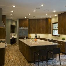 Modern Kitchen by David Wilkes Builders