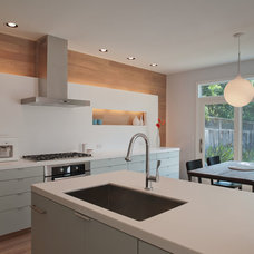 Contemporary Kitchen by David Wilkes Builders