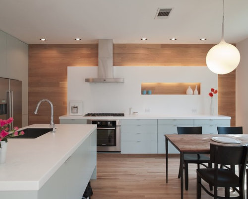 Modern Wood Kitchen Cabinet Ideas, Pictures, Remodel and Decor