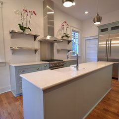 contemporary kitchen by Davidson Builders, inc.