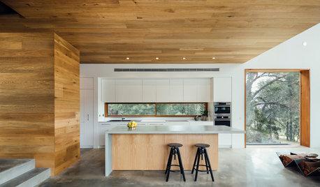 Köksö – med ovanliga belysningslösningar