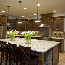traditional kitchen by Coronado Stone Products