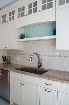Need Help With White Subway Tile Backsplash