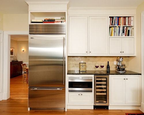 Above-The-Fridge Storage Home Design Ideas, Pictures, Remodel and Decor
