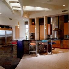 Modern Kitchen by Fisher Custom Homes