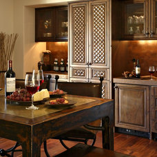 Eclectic Kitchen by Sanctuaries Interior Design