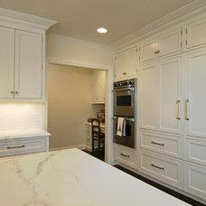 Traditional Kitchen by DDK Kitchen Design Group