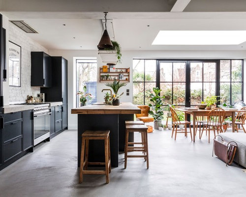 photo of an urban kitchen in london - Industrial Kitchen