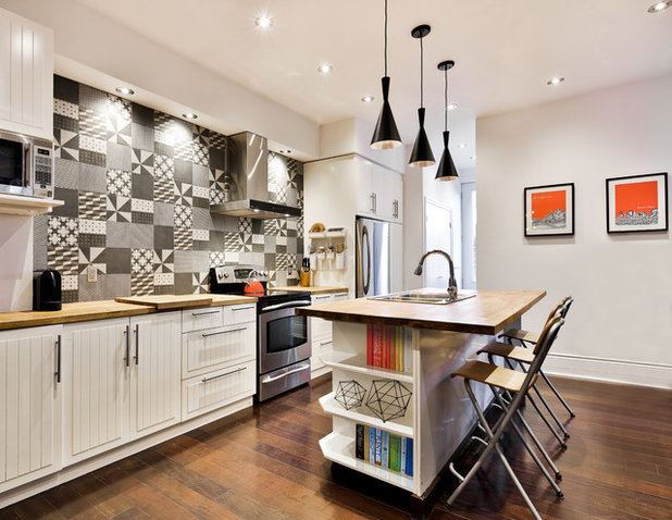 Contemporary Kitchen by Entre 4 murs