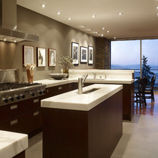 Contemporary Kitchen by Geoffrey De Sousa Interior Design